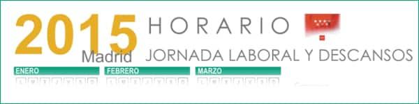 Calendario laboral comunidad de madrid 2015 grupo jenasa for Oficina correos mostoles