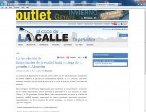 Medios que recogen la información del III Encuentro empresarial AEPA