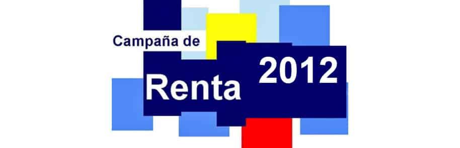 Campaña de Renta 2012