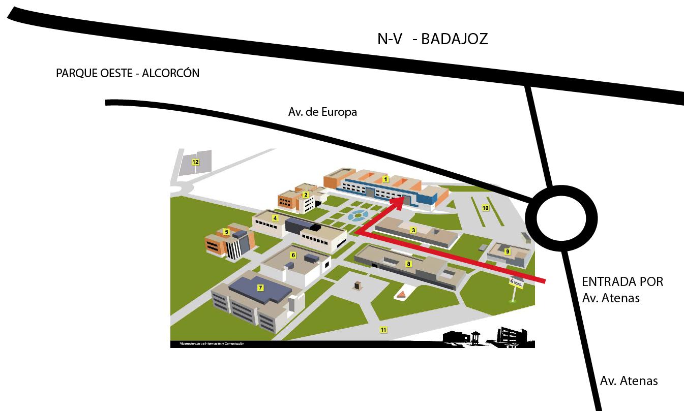 Plano C/ Atenas s/n, Alcorcón